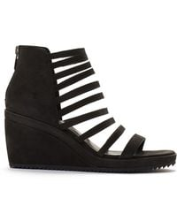 Eileen Fisher - Milly Wedge Sandal - Lyst