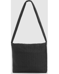 Eileen Fisher - Quilted Recycled Nylon Cross Shoulder Bag - Lyst