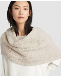 Eileen Fisher - Knit Furry Infinity Scarf - Lyst