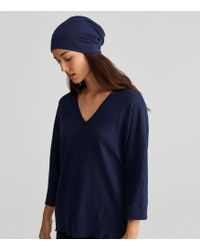 Eileen Fisher - Stretch Terry Slouchy Hat - Lyst