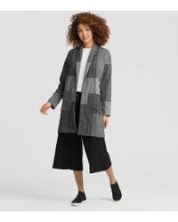 Eileen Fisher - Organic Cotton Kimono Jacket - Lyst