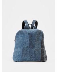 Eileen Fisher Waste No More Denim Backpack - Blue