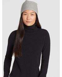 Eileen Fisher - Lofty Recycled Cashmere Striped Hat - Lyst