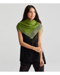 Eileen Fisher | Airy Linen Cashmere Doubleweave Scarf | Lyst