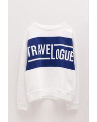 Roseanna Printed Sweatshirt - White