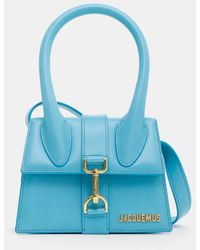 Jacquemus Le Chiquito Montagne Bag - Blue