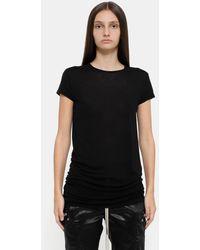 Rick Owens Level T-shirt - Black