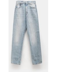 Totême - Blue Wash Original Jeans - Lyst