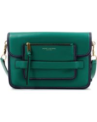 Marc Jacobs Madison Large Shoulder Midnight Emerald Green