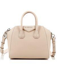 Givenchy - Mini Antigona Nude Pink Bag - Lyst