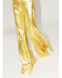 Halpern Golden Pants - Metallic