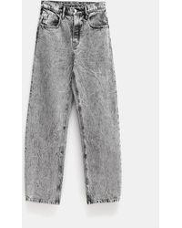 Alexander Wang Acid Wash Jeans - Gray