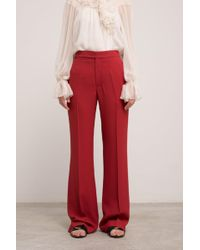 Chloé - Boot Cut Cady Trousers - Lyst
