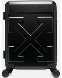 Off-White c/o Virgil Abloh Arrow Cabin Spinner Suitcase - Black