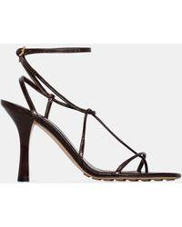 Bottega Veneta Barely There Sandals - Brown