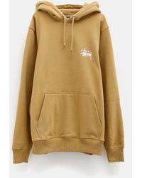Stussy Basic Hood Sweatshirt - Natural