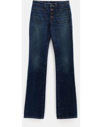 Saint Laurent - Flared Jeans - Lyst