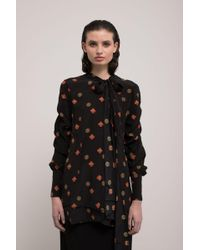J.W. Anderson | Printed Blouse | Lyst
