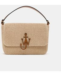 JW Anderson Straw Anchor Bag - Natural