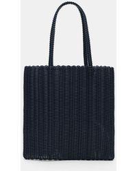 Palorosa String Tote Bag - Blue