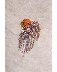 Dries Van Noten - Cascade Multicolour Brooch - Lyst