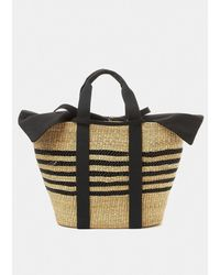Muuñ Bicg Basket Bag - Black