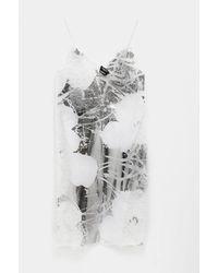 CALVIN KLEIN 205W39NYC Flower Print Dress - White