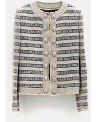 Balmain - Gay Ficelle Jacket - Lyst