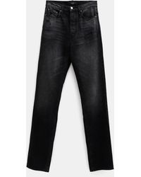 Amiri Loose Jeans For Men - Black