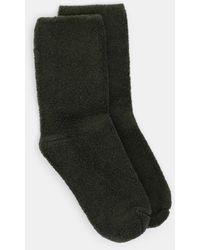 Baserange Buckle Overankle Socks - Green