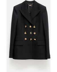 Givenchy Jacket With Fancy Buttons - Black