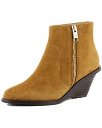 Elaine Turner - Bree Bootie In Saddle - Lyst