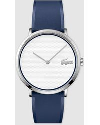 Lacoste - 2010951 Blue Silicone Watch - Lyst