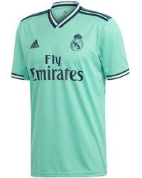 newest 5f41f 6dcc9 Real Madrid Cf 2019-2020 Third Kit T-shirt - Green