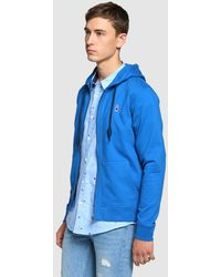 GREEN COAST | Blue Casual Jacket With Hood | Lyst