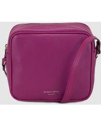Gloria Ortiz - Miriam Purple Nappa Leather Mini Crossbody Bag - Lyst