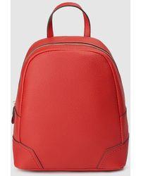 El Corte Inglés Red Backpack With Zip