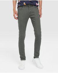 Green Coast - Pantalon 5 Poches Homme Skinny Vert Kaki - Lyst