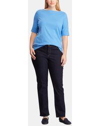 Denim & Supply Ralph Lauren - Plus Size Blue Short Sleeve T-shirt - Lyst