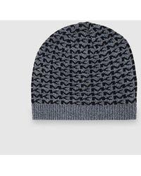 Michael Kors - Fine Hat Knit With Logos - Lyst dcef60e70a3b