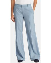 Lauren by Ralph Lauren - Loose-fitting Trousers With Front Fastening - Lyst