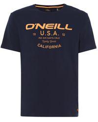 O'neill Sportswear Oneill Lm Dawson T-shirt - Blue
