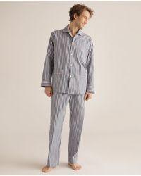 Mirto Mens Long Multicoloured Fabric Pyjamas