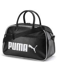 PUMA Retro Campus Grip Bag - Black