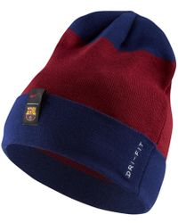 e0bce512854 Lyst - Nike Fc Barcelona Aerobill Classic 99 Cap in Blue for Men