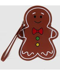 Green Coast - Purse In The Shape Of A Gingerbread Man - Lyst