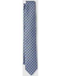 Polo Ralph Lauren - Blue Silk Tie With Horse Print - Lyst