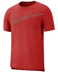 881c031a Nike Dri-fit Nathan Bell Running T-shirt in Pink for Men - Lyst