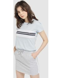 c9727a86b Express High Waisted Plush Jersey Pencil Skirt in Gray - Lyst