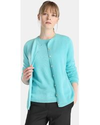 James Perse - Cardigan With Button Closure - Lyst